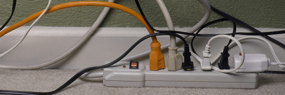 electrical services, overloaded electrical outlets, rob stubbins master electrician rutland vt
